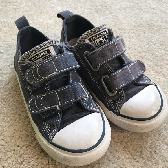 2fc735f8ea9f Converse Other - Toddler boys navy blue converse sneakers